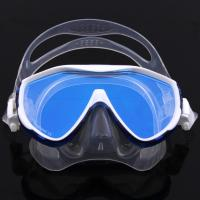 Tempered No Fog Dive Mask with Silicone Skirt Soft Flexible Silicone Strap Manufactures