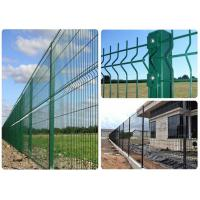 Pvc Coated Welded Wire Mesh Fence For Park / Garden / Sports Ground Safety Manufactures