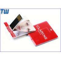 China Noble Slim Square Card Best USB Flash Drive High Quality Printing on sale