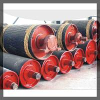Belt Conveyor Wing Pulleys/bend pulley used in coal factory Manufactures