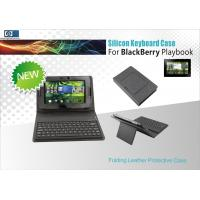 Waterproof Protective Leather Case Wireless Bluetooth 2.0 Keyboard For Blackberry Playbook Manufactures