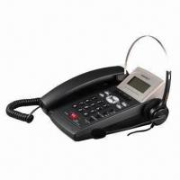 China Call Center Headset Caller ID Telephone, Able to Select Handset/Headset on sale