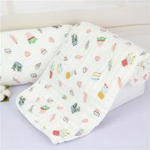 China Summer Muslin Baby Blankets Silky Bamboo Sleeping Quilt Zero Formaldehyde on sale