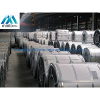 China Wear Resistant Galbanized Steel Cold Rolled Coil JIS G3302 Unoiled /  Mini Spangle on sale