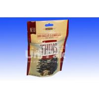 Stand Up Zip Lock Packaging Bags For Snack Food , Biodegradable Plastic Bags Manufactures