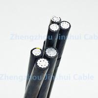 Low Voltage Xlpe Single Core Cable , Heat Resistance 120 Sq Mm Aerial Electrical Wire Manufactures