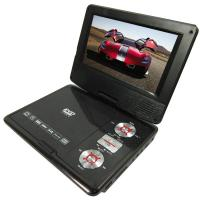 7inch Portable Dvd / Jack / Evd / Hd /Cd / Fm / Games Player With Sunplus+Hitachi Solution-Cr-7018 Manufactures