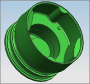 4 Cavities 2 Sliders Natural Rubber Injection Molding With Cold Runner Systems Manufactures