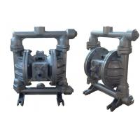 Stable Air Driven Double Diaphragm Pump No Electricity Transfer High Viscosity Fluid Manufactures
