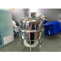 High Output Universal Shower Head Chlorine Filter Purify Water Chrome Plated Finish Manufactures