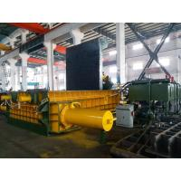 315 Tons Baling Force Cuboid Block , Cylinder Scrap Metal Pressing machine Manufactures