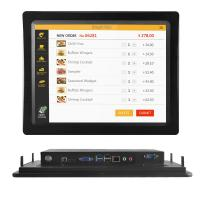10.4 inch core i3 i5 i7 4g ram 256g ssd touch screen desktop computer all in one industrial panel pc Manufactures