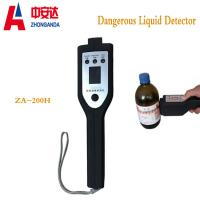 ZA-200H Plastic Metal Detector Gate Scanner  For Airport Alcohol Detecting Manufactures
