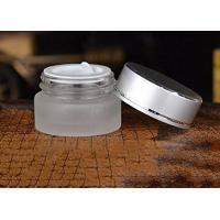 Silver Aluminum Lid Cosmetic Cream Jar Safety Good Sealing Performance