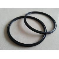 Professional Sealing Custom Silicone Rings , Round Platinum Cured Silicone Gaskets Manufactures