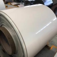 China 0.3MM Thickness Prepainted Galvanized Steel Coil White For Classroom Chalkboard on sale