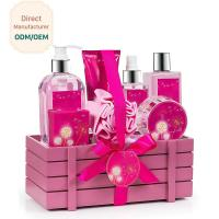 China Princess Aromatic Body Care Bath Gift Set / Shower Gift Sets For Women on sale