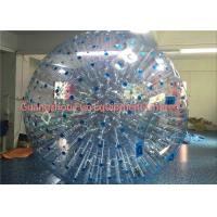 Giant Clear Inflatable Human Sized Hamster Ball Zorbing Water Walking For Playground