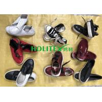 China Women Clean Used Canvas Shoes , First Grade Second Hand Clothes Shoes on sale