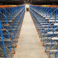 Heavy Duty Industrial Pallet Racks Steel Q235 Material Powder Coated Finish Manufactures
