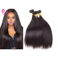 China Straight Hair Bundles Indian 8A Weave Indien Non Remy Raw Weaving Extensions on sale
