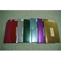 Recyclable Metallic Glamour Bubble Mailers , Durable Padded CD Mailers 175x165mm Manufactures
