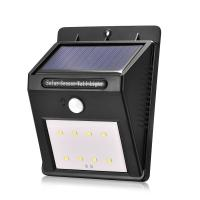 outdoor waterproof 8led Solar Power motion sensor Wall Light for Garden,Yard and corridor Manufactures