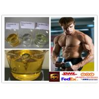 Semi Finished Yellow Steroid Liquid Oil Trenbolone Enanthate For Muscle Building Manufactures