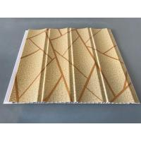 Easy Maintenance Laminated Pvc Wall Panels For Drawing Room 25cm*7mm Manufactures