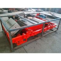 China Auto Discharge Overband Magnetic Separator , Inline Magnetic Separator Aluminum Coil on sale