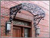 wrought iron balcony balustrades
