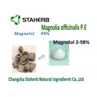 Quality 2-98% Purity Supercritical Fluid Extraction Light Brown Powder Magnolol Active for sale