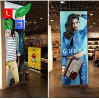 Tension Fabric Light Box LED Edge Lit Backlit Ligh tbox Fabric Manufactures