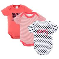 Custom 3 Pack Baby Summer Clothes / Cotton Short Sleeve Bodysuit for sale