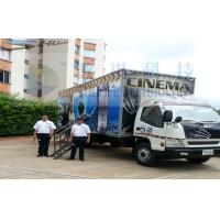 Columbia Mobile 5D Cinema , Exiciting Car Cinema Snow Simulation Manufactures