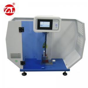 5.5J Digital Charpy Izod Impact Tester , Rubber Plastic Izod Charpy Test Equipment Manufactures