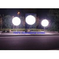 Meanwell Power Supply Inflatable Lighting Decoration , Led Light Up Balloons Manufactures