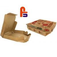 China Recyclable Custom Gift  Packaging CMYK Color Paper Food Packing Box on sale