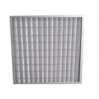 Indoor Residential Pleated Panel Air Filters For Clean Room , High Dust Capacity Manufactures