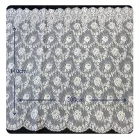 AEO FREE  Floral Chantilly 100% Nylon Lace Fabric For All Kinds Of Garment Manufactures