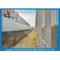Professional Hot Dipped Galvanized Welded Mesh Security Fencing For Protection 2.0m Height Manufactures