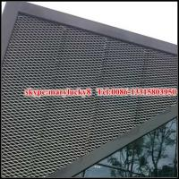 China decorative aluminium expanded mesh building facade on sale