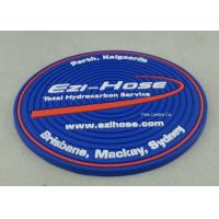 Customized Soft PVC Coaster With Logo Printing Diameter 9cm Pantone Chart Manufactures