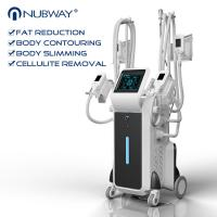 Quality 2500w big power standing cryolipolysis with 4 different size handles for whole for sale