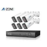 Home security 1080P 6 Channel Dvr Camera System 2MP With Hard Drive Manufactures