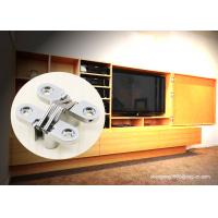 TV Cabinet Small Soss 180 Degree Cabinet Hinge , Invisible Hinges Cross Hidden Hinge Manufactures