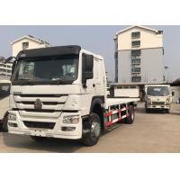 4x2 Commercial Flatbed Truck , RHD Drive Steering Heavy Duty Flatbed Truck Manufactures