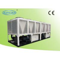 Industrial Air Conditioner Commercial Chiller Units , Air Cooled Screw Chiller 675KW Manufactures