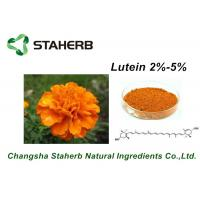 High Purity marigold extract Lutein and Zeaxanthin Powder UV/HPLC 5% - 90% Manufactures