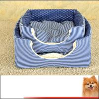 Free shipping pink dog bed canvas sponge dog beds for sale china factory Manufactures
